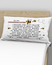 Mema - Granddaughter Rectangular Pillowcase aos-pillow-rectangular-front-lifestyle-02