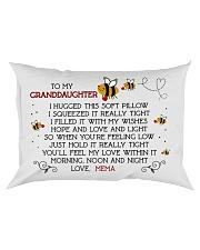 Mema - Granddaughter Rectangular Pillowcase front