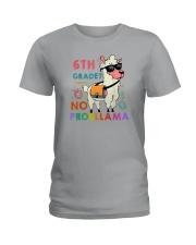 6th Grade No Probllama Ladies T-Shirt thumbnail
