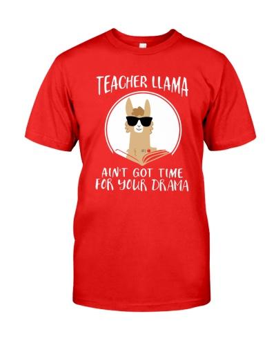 Teacher Llama Ain't Got Time For Your Drama