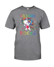 Unicorn 1st Grade Rocks Classic T-Shirt thumbnail