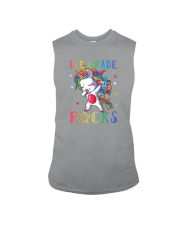 Unicorn 1st Grade Rocks Sleeveless Tee thumbnail