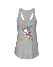 Unicorn 1st Grade Rocks Ladies Flowy Tank thumbnail