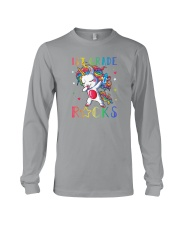 Unicorn 1st Grade Rocks Long Sleeve Tee thumbnail