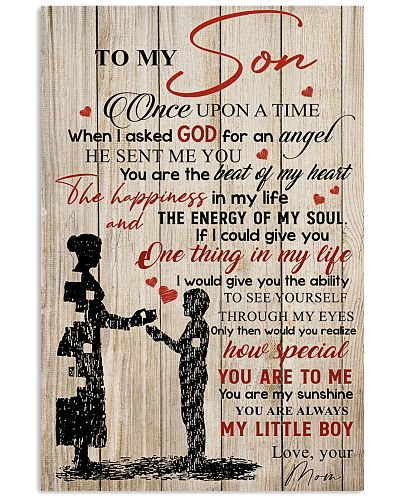 To My Son Once Upon A Time When I Asked God