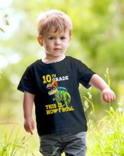 10th Grade  Dinosaur How I Roll  Youth T-Shirt lifestyle-youth-tshirt-front-5