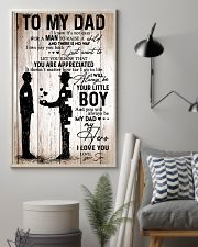 To My Dad Boy 11x17 Poster lifestyle-poster-1