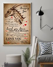 To My Amazing Son Never Forget  11x17 Poster lifestyle-poster-1