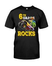 6th Grade Truck Dino Rocks  Classic T-Shirt thumbnail