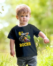 6th Grade Truck Dino Rocks  Youth T-Shirt lifestyle-youth-tshirt-front-5
