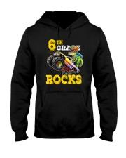 6th Grade Truck Dino Rocks  Hooded Sweatshirt thumbnail