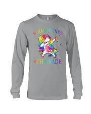 Unicorn Straight Into 4th Grade Long Sleeve Tee thumbnail
