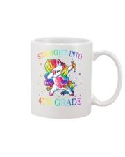 Unicorn Straight Into 4th Grade Mug thumbnail