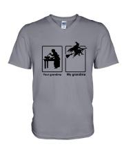 Your Grandma My Grandma V-Neck T-Shirt thumbnail