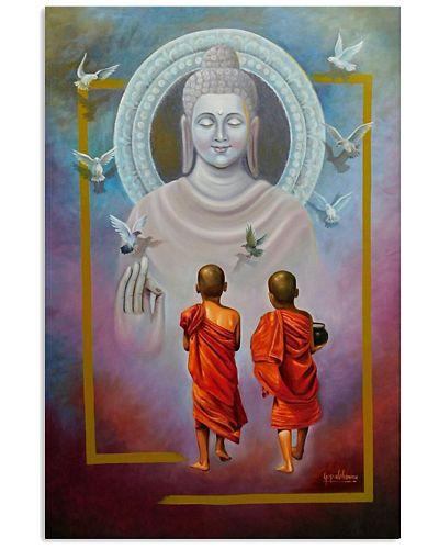 Buddha in Peace Love Life