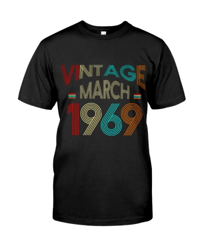 Vintage March 1969 50th Birthday Gift 50 Years old