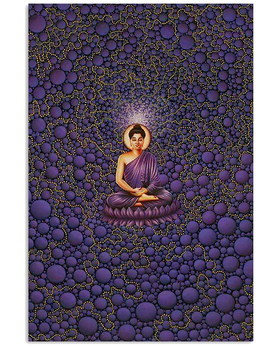 Buddha in Peace Color for Home Decor making warm 24x36 Poster