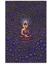 Buddha in Peace Color for Home Decor making warm 24x36 Poster front
