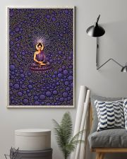 Buddha in Peace Color for Home Decor making warm 24x36 Poster lifestyle-poster-1