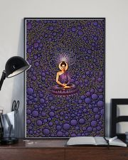 Buddha in Peace Color for Home Decor making warm 24x36 Poster lifestyle-poster-2