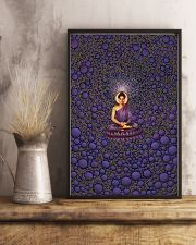 Buddha in Peace Color for Home Decor making warm 24x36 Poster lifestyle-poster-3