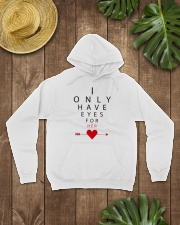 I Only Have Eyes for Her Hooded Sweatshirt lifestyle-unisex-hoodie-front-7