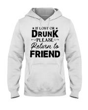 if lost or drunk please Hooded Sweatshirt thumbnail