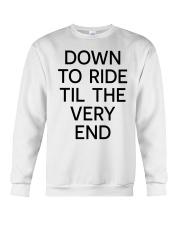 Down to ride Crewneck Sweatshirt thumbnail