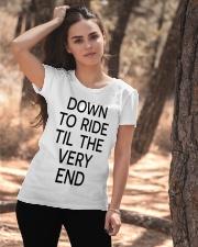 Down to ride Ladies T-Shirt apparel-ladies-t-shirt-lifestyle-06