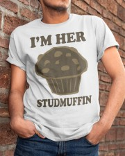 Im her studmuffin Classic T-Shirt apparel-classic-tshirt-lifestyle-26