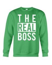 The real boss Crewneck Sweatshirt thumbnail