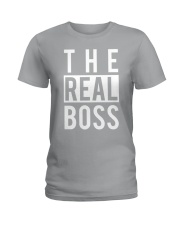 The real boss Ladies T-Shirt tile