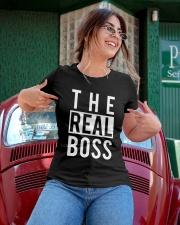 The real boss Ladies T-Shirt apparel-ladies-t-shirt-lifestyle-01