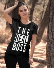 The real boss Ladies T-Shirt apparel-ladies-t-shirt-lifestyle-06