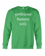 girlfriend fiancee wife Crewneck Sweatshirt thumbnail