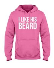 I like his beard Hooded Sweatshirt thumbnail