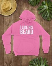 I like his beard Hooded Sweatshirt lifestyle-unisex-hoodie-front-7