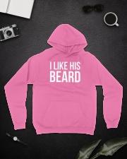 I like his beard Hooded Sweatshirt lifestyle-unisex-hoodie-front-9