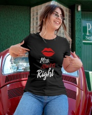 Mrs always right Ladies T-Shirt apparel-ladies-t-shirt-lifestyle-01