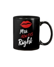 Mrs always right Mug tile