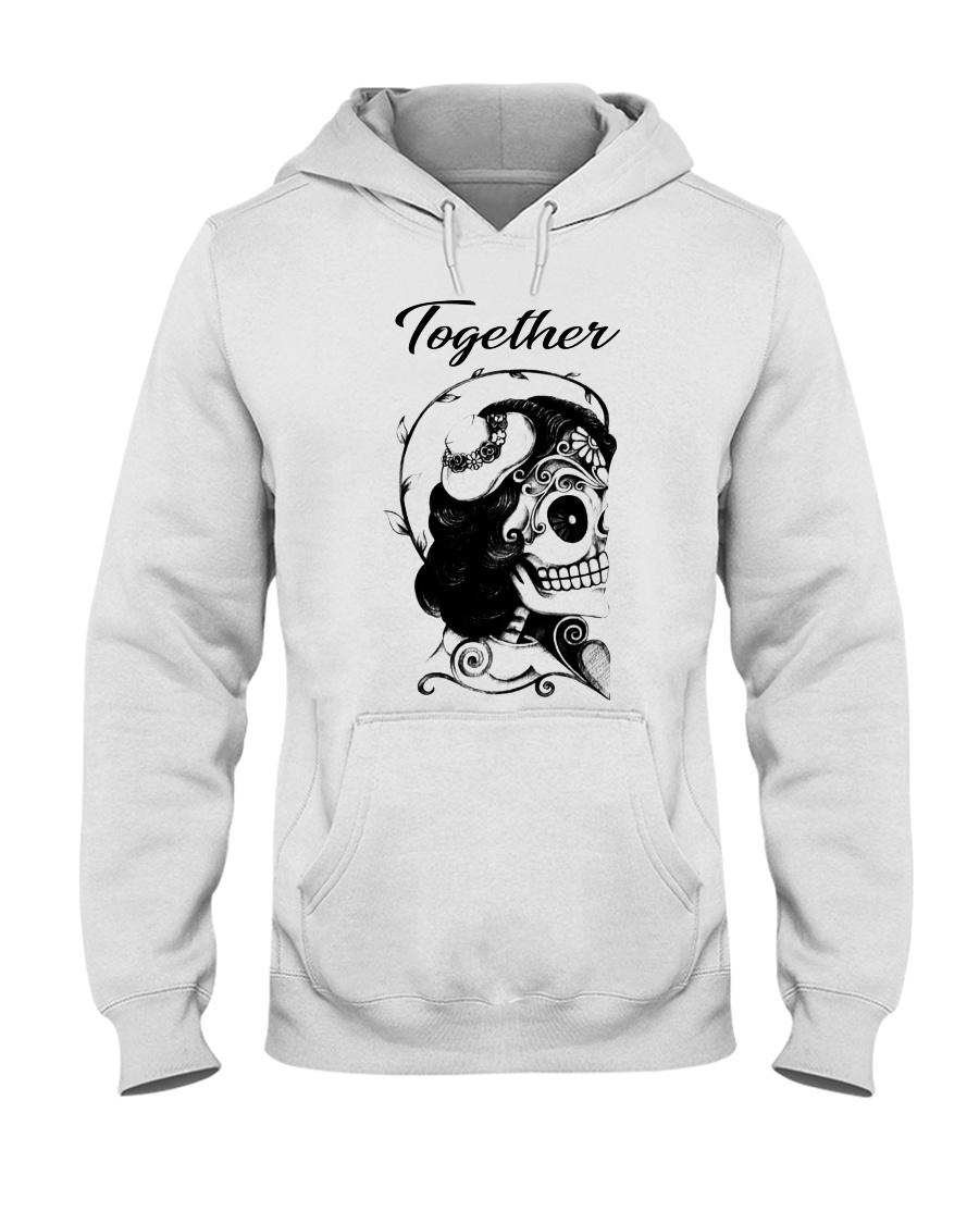 Boomts couple Hooded Sweatshirt