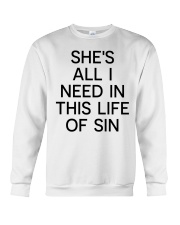 She all I need Crewneck Sweatshirt thumbnail