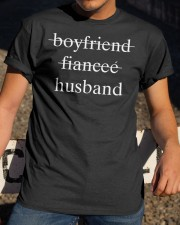 boyfriend fiancee husband Classic T-Shirt apparel-classic-tshirt-lifestyle-28