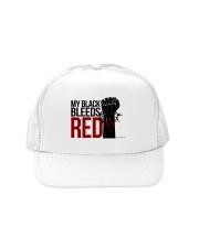 Culture Black Trucker Hat front