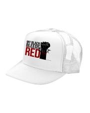 Culture Black Trucker Hat left-angle