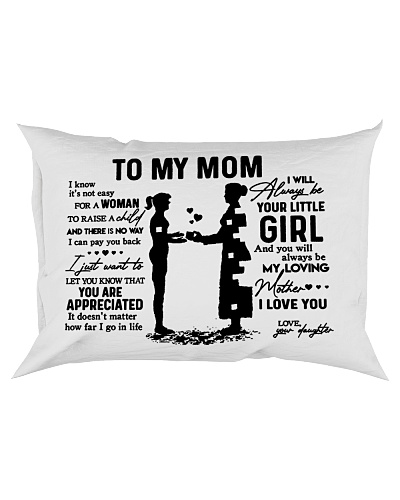 Pillow - To My Mom - Girl