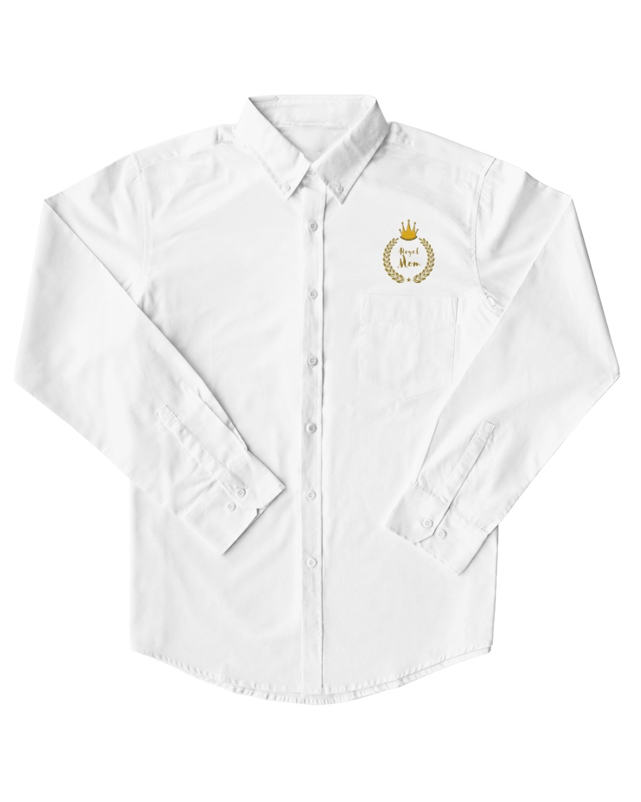 Mother's Day Card - Awesome Mums Royal Mom Mama Mi Dress Shirt