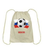 RUSSIA WORLD CUP 2018  Drawstring Bag thumbnail