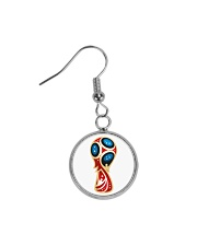 RUSSIA WORLD CUP 2018  Circle Earrings thumbnail