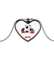 RUSSIA WORLD CUP 2018  Metallic Heart Necklace thumbnail